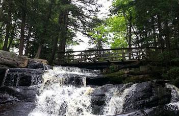 Waterfalls in Muskoka