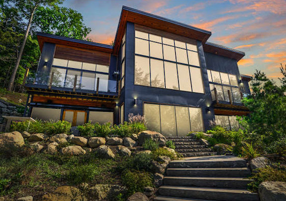 SOLD – Lake Rosseau Contemporary