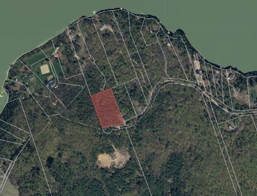 3.3 acre lot