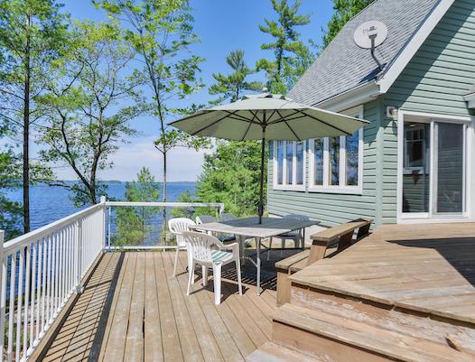 Lake Muskoka Island Cottage